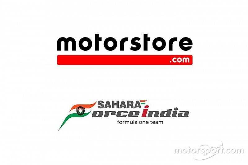 Motorstore.com dan Sahara Force India Resmikan Kerja Sama e-commerce