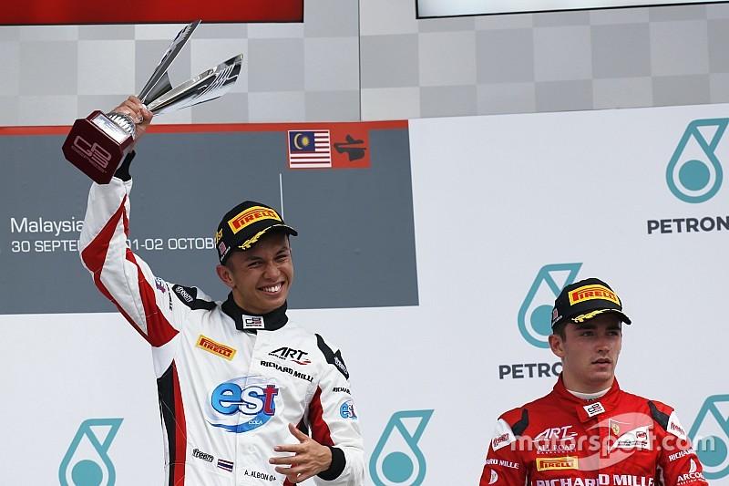 Leclerc, Albon'ın Toro Rosso ile F1'de yarışmasını istiyor
