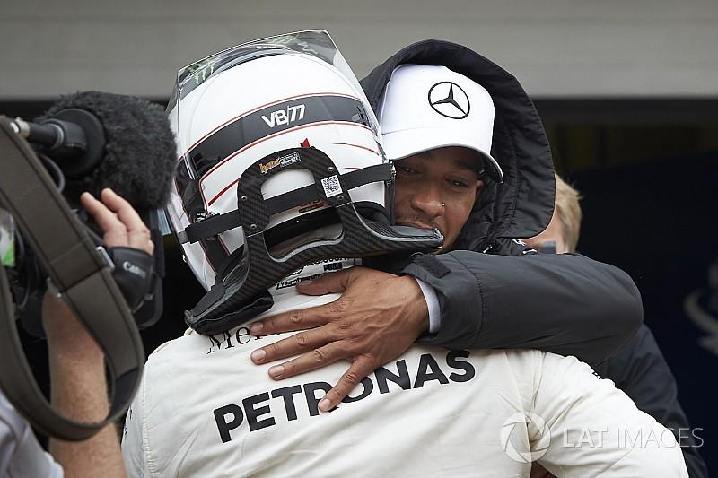 Bottas, Mercedes çalışanlarına verdiği sözü tutmaktan memnun