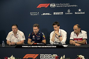 Formula 1 Press conference Monaco GP: Thursday's press conference