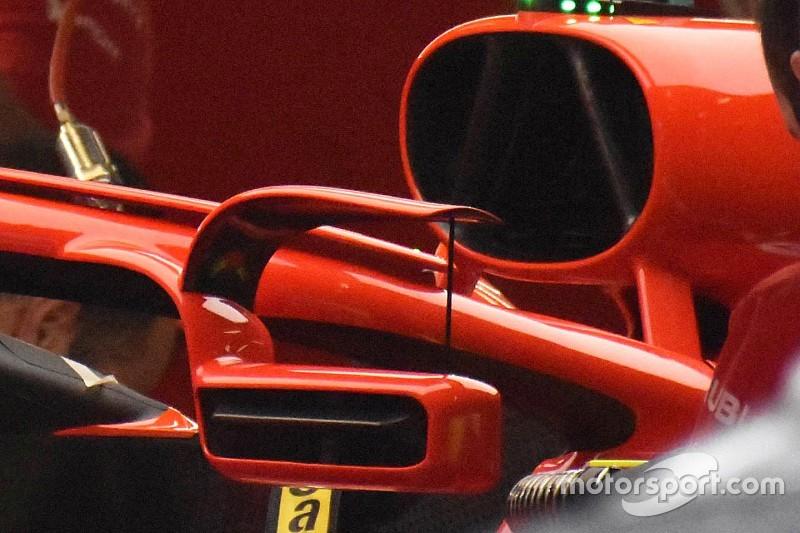 Ferrari, araç aynasını İspanya için Halo'nun üzerine yerleştirdi!