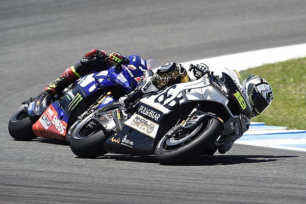 MotoGP Bautista a enfin piloté sa moto