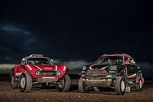 Mini divide estrategias para el Dakar con su nuevo buggy