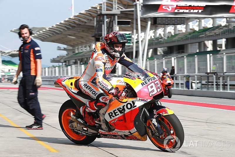 Marquez begins contract renewal talks with Honda