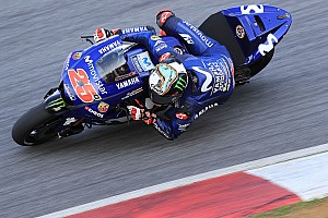 MotoGP Testing report Vinales leads Rossi on Day 2 of Sepang test