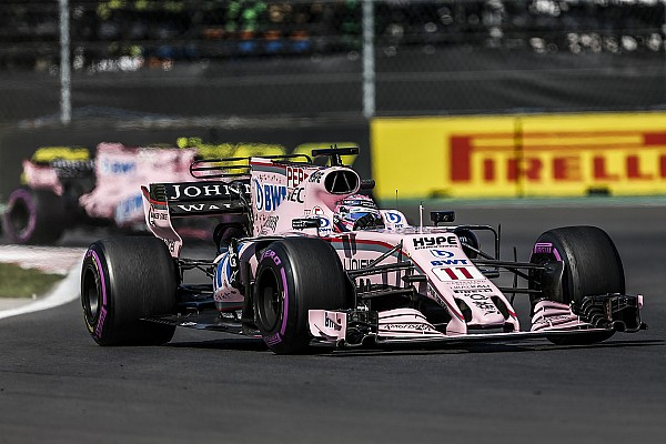 Force India ослабила запрет на борьбу своих пилотов