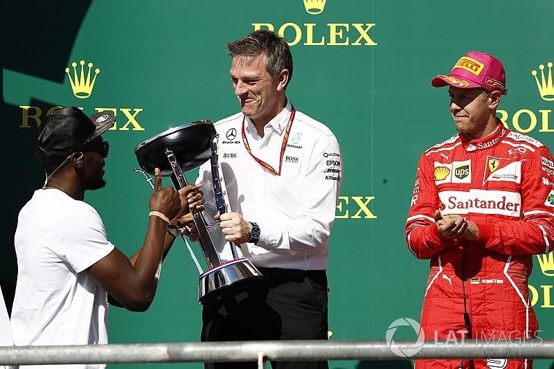 """Taiseux sur Ferrari, Allison estime que Mercedes """"permet de se démarquer"""""""