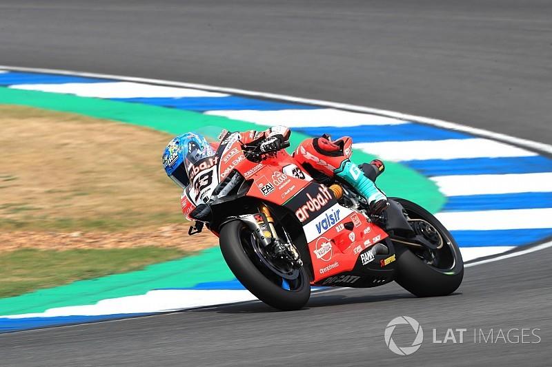 Marco Melandri: Ducati hat keine Antworten für die Fahrwerksunruhe
