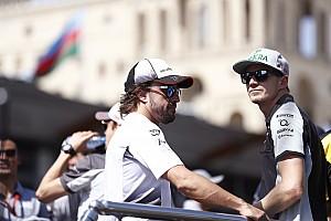 Hulkenberg advierte a Alonso: