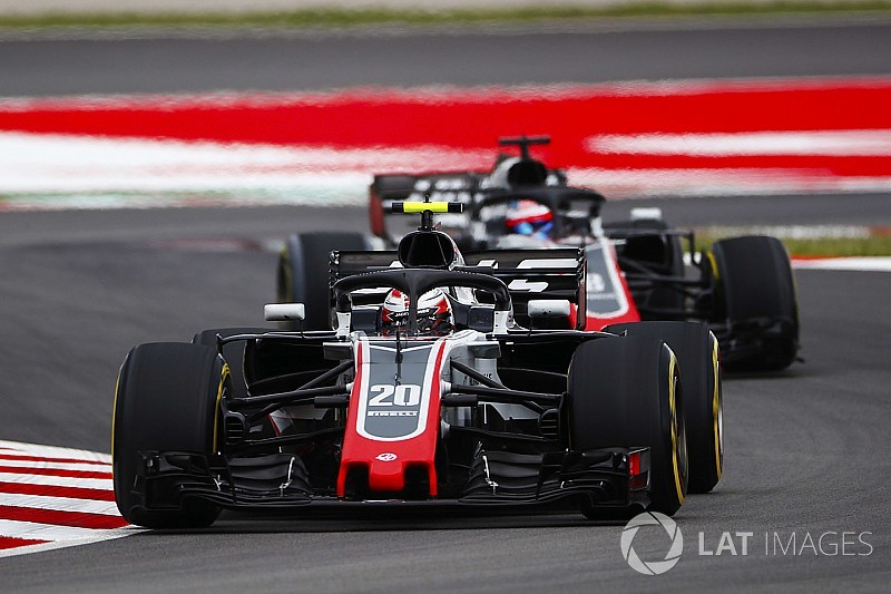 Magnussen califica el séptimo en España como pole position para Haas
