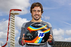 Alonso lancia un sondaggio per scegliere il casco con cui correrà alla Indy 500