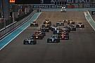 Le programme TV du Grand Prix d'Abu Dhabi