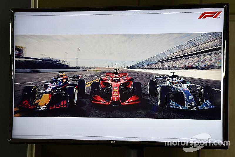 Формула 1 представила три концепта машин 2021 года