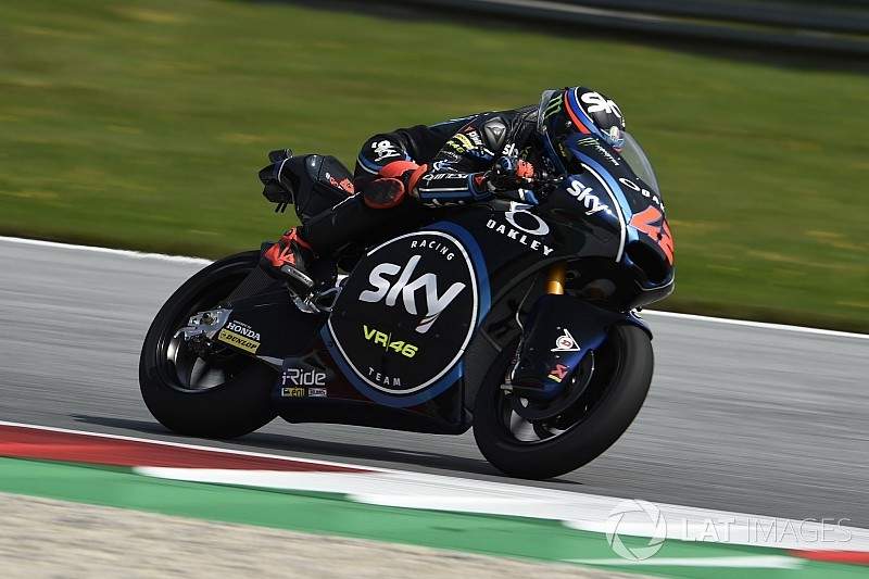 Moto2 Red Bull Ring: Rossi-protegé Bagnaia domineert kwalificatie