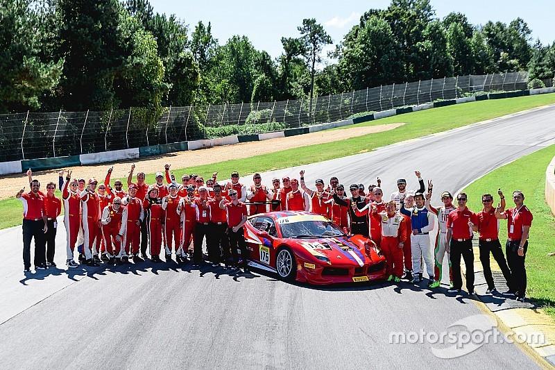 Ferrari Challenge NA crowns two champions at Road Atlanta