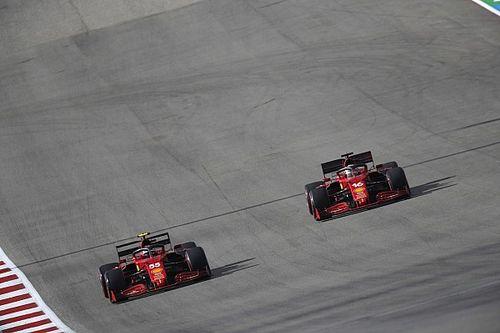 Ferrari sonríe ante el paso adelante gracias a su motor
