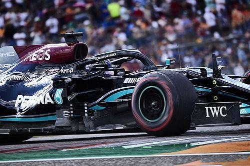 "F1: Hamilton diz que ""deu absolutamente tudo"" nos Estados Unidos"