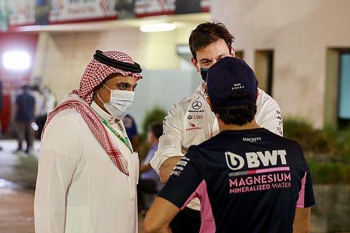 El promotor saudí de la F1 habló de derechos humanos con los pilotos