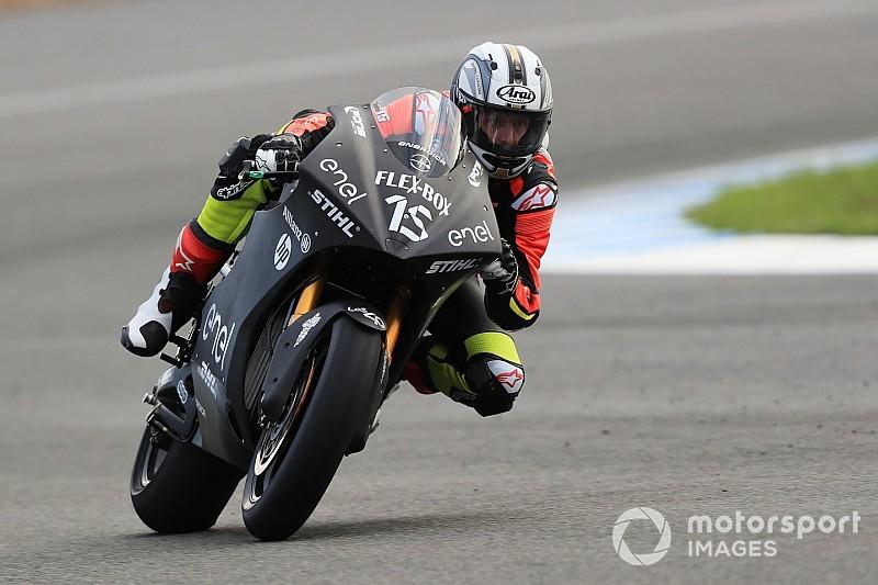 Galería: los pilotos de MotoE se estrenan en Jerez