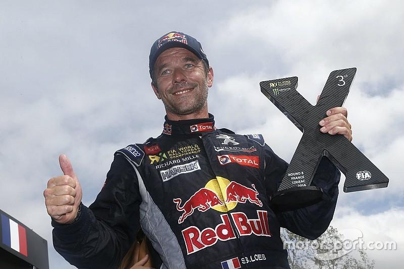 Лёб проведет еще один сезон в WRX за рулем Peugeot