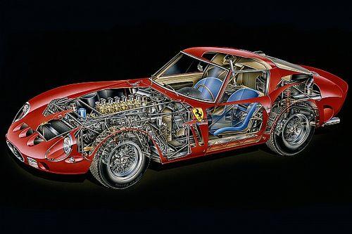 Cutaway analysis: Ferrari 250 GTO
