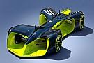 Формула E Дебютная гонка «беспилотников» Roborace закончилась аварией