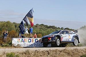 WRC Tappa Sardegna, PS9: Hänninen sbatte, Paddon chiude la tappa da leader