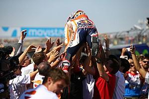 MotoGP Breaking news GALERI: Selebrasi kemenangan Marquez di Aragon