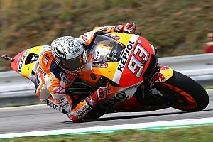 MotoGP Qualifyingbericht MotoGP 2017 in Brno: Marquez vor Rossi auf Pole-Position