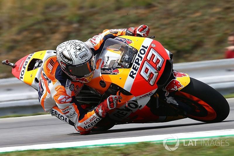 FP3 MotoGP Rep. Ceko: Meski terjatuh, Marquez tampil tercepat