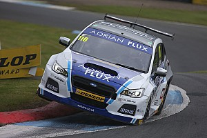 BTCC Race report Knockhill BTCC: Sutton wins Race 2 as Subaru dominates
