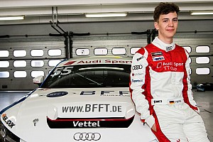 Touring Interview Nom : Vettel, prénom : Fabian, profession : pilote Audi TT Cup