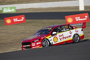 Supercars Qualifying report Sydney Supercars: McLaughlin equals Whincup's pole record