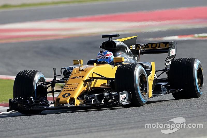 Палмер провел обкатку новой машины Renault
