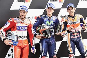 MotoGP Kwalificatieverslag Viñales verslaat Dovizioso en Marquez voor de pole op Misano