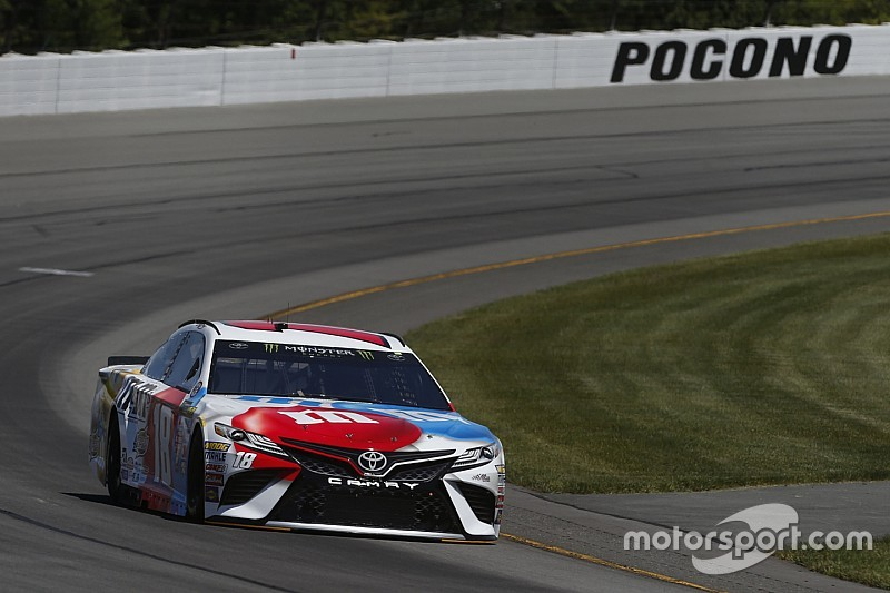 Kyle Busch leads final practice at Pocono