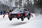 WRC Экипажи Hyundai захватили первые три позиции на Ралли Швеция