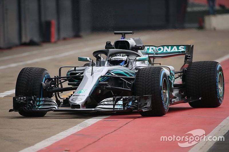 Ecco la Mercedes W09: Bottas ha fatto il primo giro a Silverstone