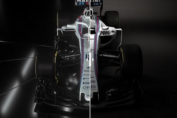 Формула 1 Важливі новини Порівняння старого та нового болідів Williams