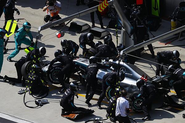 F1 速報ニュース メルセデス、上海でのピットストップは1.8秒! 現代F1最速タイムか