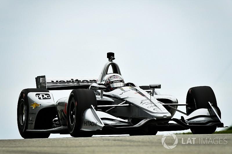 Road America IndyCar: Newgarden, Honda'ların önünde pole'de