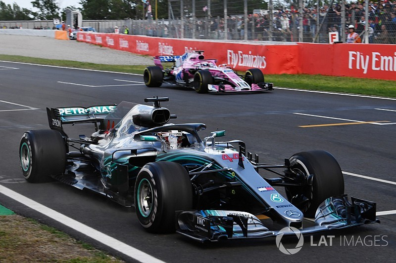 Hamilton: Track temperature played big role in Barcelona win