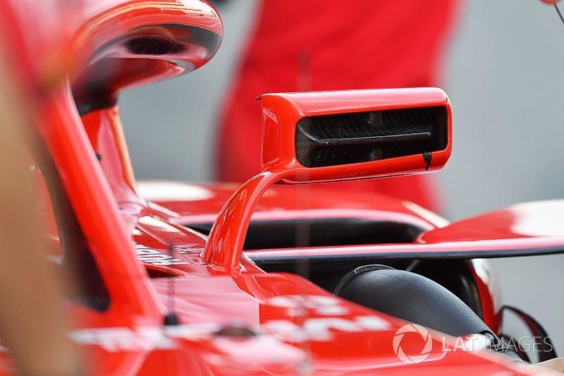 Tech analyse: Hoe de spiegels van Ferrari onderwerp van gesprek werden
