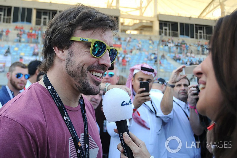 Alonso to drive Toyota in Bahrain WEC test
