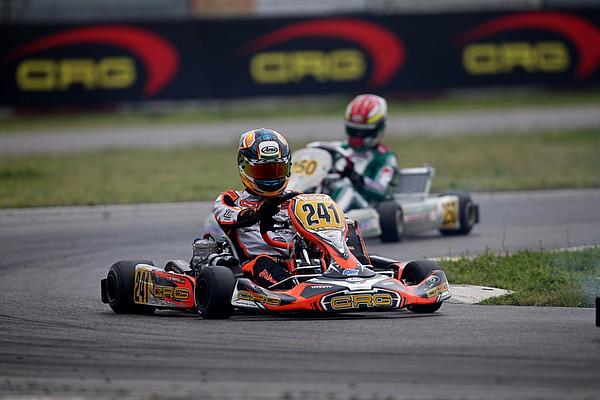 Kart Crónica de Carrera Victoria de Stanek, Hiltbrand segundo y Vidales, fuera de carrera
