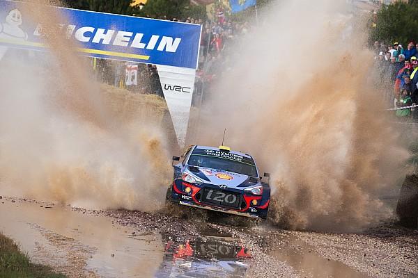 Italy WRC: Mikkelsen leads Hyundai 1-2 on Friday morning