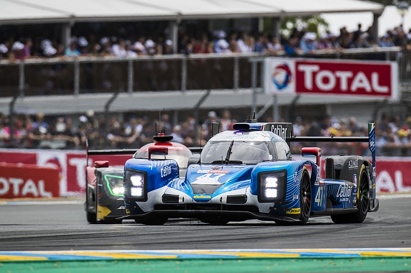 Le Mans: una foratura ha rallentato la Dallara #47 del team Cetilar Villorba Corse