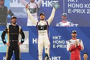 Formula E Race report Hong Kong ePrix: Bird overcomes penalty to win chaotic opener