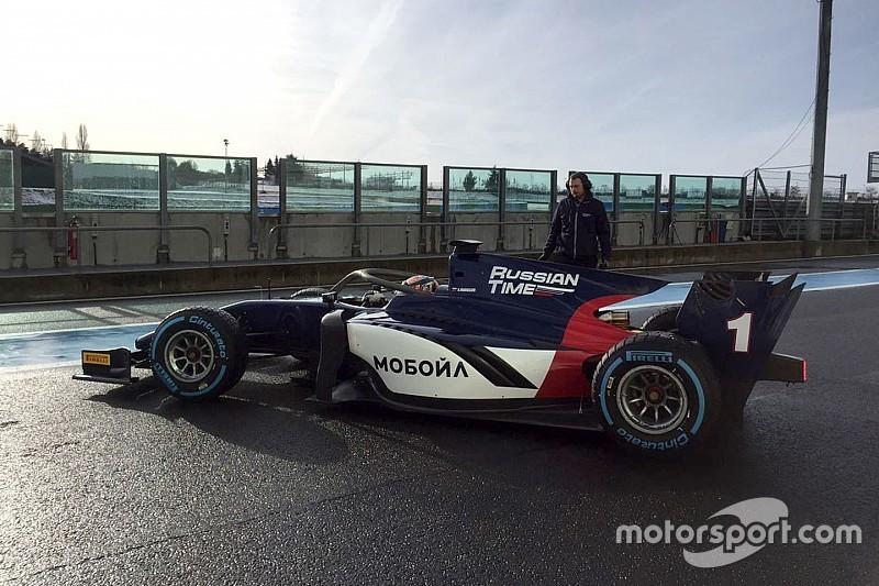 Lo shakedown della nuova monoposto di F2 è iniziato a Magny-Cours