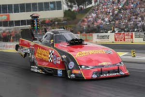 NHRA Race report Courtney Force wins rain-delayed Topeka race